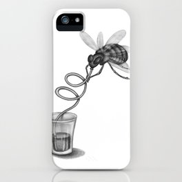 Fine Mouche 1 iPhone Case