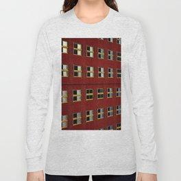 Hotel Floridan -- Red Long Sleeve T-shirt