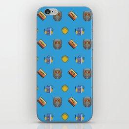 Awesome Mix Vol 1- Yondu Blue iPhone Skin