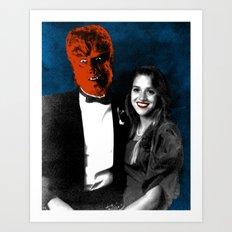 Spooky Prom 3 Art Print