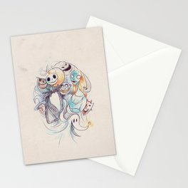 The Grim Bunch Stationery Cards