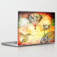 pirates Laptop & iPad Skins featuring Pirates' DEN by Joe Ganech