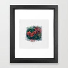 Fading Flowers Framed Art Print