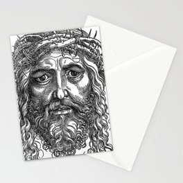 Jesus Christ crowned with thorns (16th century) Stationery Cards