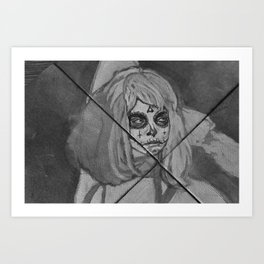 Dias los muertos Art Print
