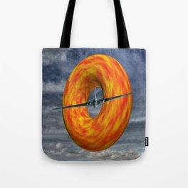 Donut Slice  Tote Bag
