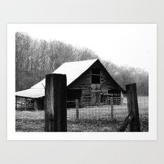 old barn 10 Art Print
