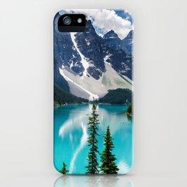 Lake Moraine Banff iPhone Case