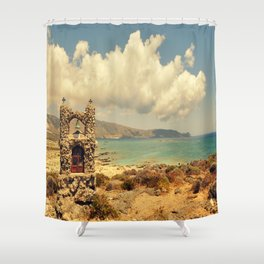 Elafonisi Shower Curtain