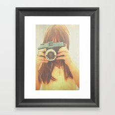 The Portrait Framed Art Print