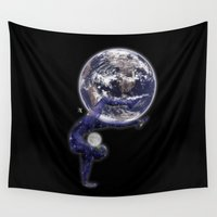 circus Wall Tapestries featuring Circus by AkuMimpi