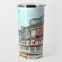 Wrigley Field | Pride 2020 Travel Mug