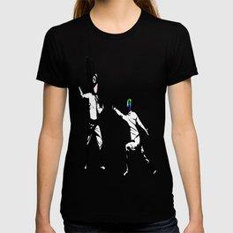 music battle fencing T-shirt