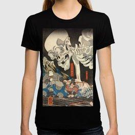Utagawa Kuniyoshi - Takiyasha the Witch and the Skeleton Spectre T-shirt