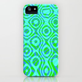 Mixed Polyps Green - Coral Reef Series 037 iPhone Case