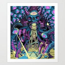 Boss Fight! Art Print