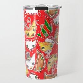 """Oro?"" Christmas Series RED Travel Mug"