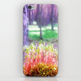 FOREST MOSS iPhone Skin