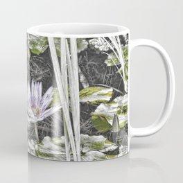 Stunning faded waterlily Coffee Mug