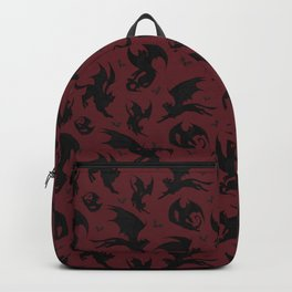 Batcats red Backpack
