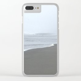 Line In The Sand Clear iPhone Case