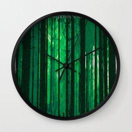 The Forbidden Forest Wall Clock