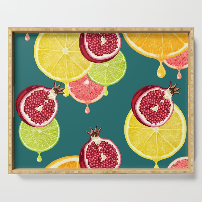 tropic fruit Serving Tray