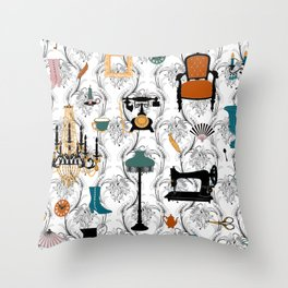 Belle Epoque Throw Pillow