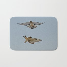 Short Eared Owl and Northern Harrier Bath Mat