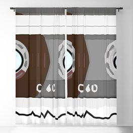 The cassette tape Robot Blackout Curtain