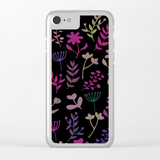 Lovely Pattern XIII Clear iPhone Case