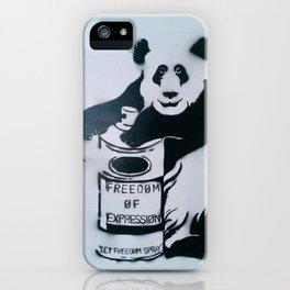 Let Freedom Spray iPhone Case