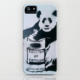 Let Freedom Spray iPhone Case