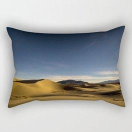 Sand Dunes & Night Sky Rectangular Pillow