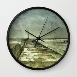 Arriving and Departing, all at the Same Time Wall Clock