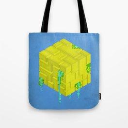 Cubic - Blue Tote Bag