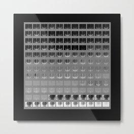 one = many (no. 1g) Metal Print