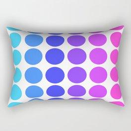 Dot Pattern Rectangular Pillow