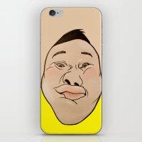 he man iPhone & iPod Skins featuring HE HE HE  by RUEI