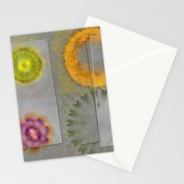 Quaternary Strategy Flowers  ID:16165-142241-78321 Stationery Cards