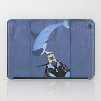scuba iPad Cases featuring Scuba diver by Aquamarine Studio