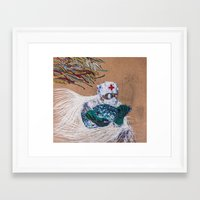 doctor Framed Art Prints featuring doctor by Valentin Blagodov