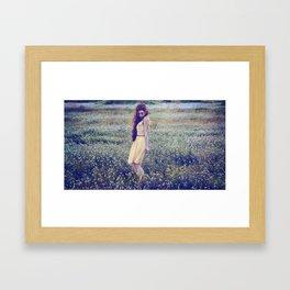 Lolita; L'espagnole française. Framed Art Print