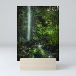 Mallyan in Green Mini Art Print