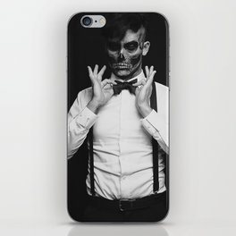 Monsieur Monstre iPhone Skin