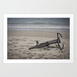 Lost Bicycle Art Print