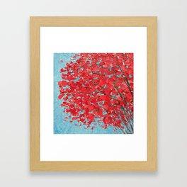 Highlands Red Maple Framed Art Print