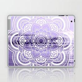 Water Mandala Lavender Laptop & iPad Skin