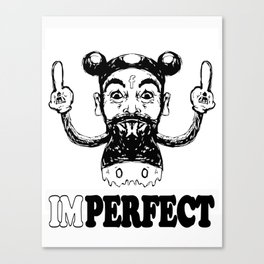 Imperfect Charlie Mouse Canvas Print