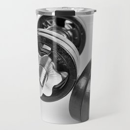 screwed hand barbells weights Travel Mug